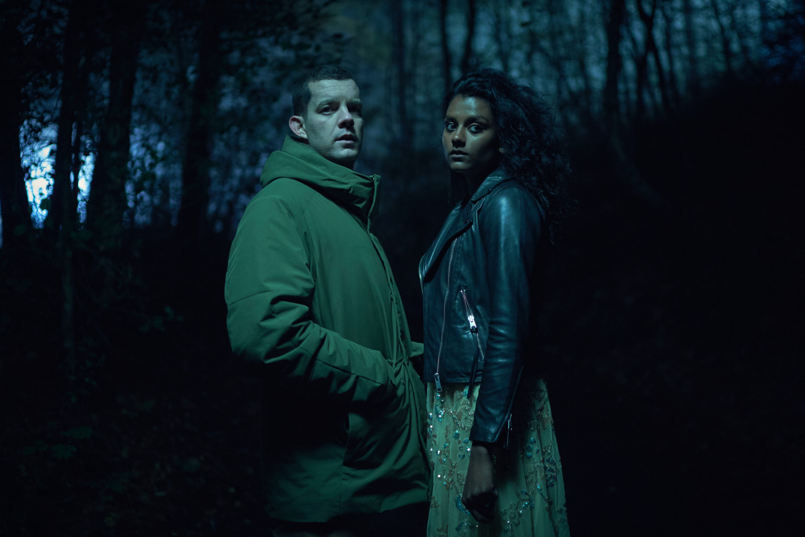 Simone Ashley starred opposite Russell Tovey in The Sister (Credit: ITV1)