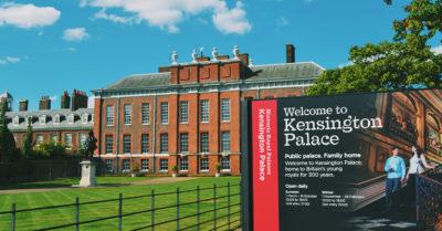 kensington palace outside
