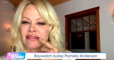 pamela anderson on loose women