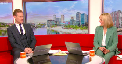 dan walker and louise minchin on bbc breakfast