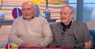 Bobby Ball Tommy Cannon on Lorraine