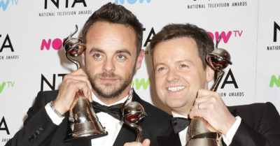 ant and dec with awards