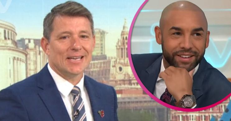 Ben Shephard fills in for Alex Beresford on GMB