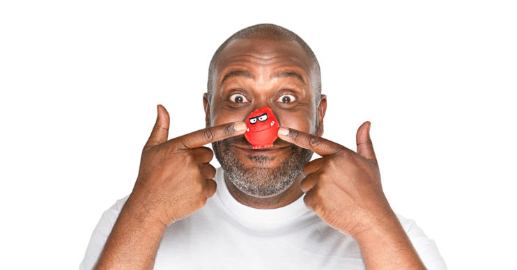 sir lenny henry comic relief red nose