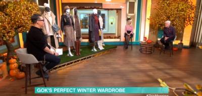 Gok Wan hosts fashion segment on This Morning