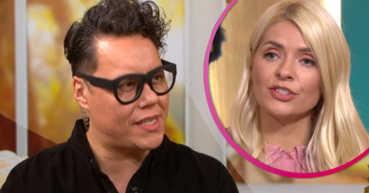 Gok Wan hosts This Morning fashion segment
