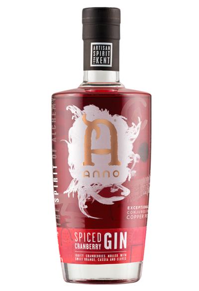 Lidl Cranberry Gin bottle