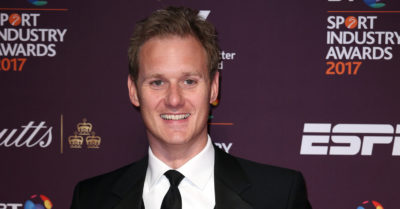 dan walker at an event