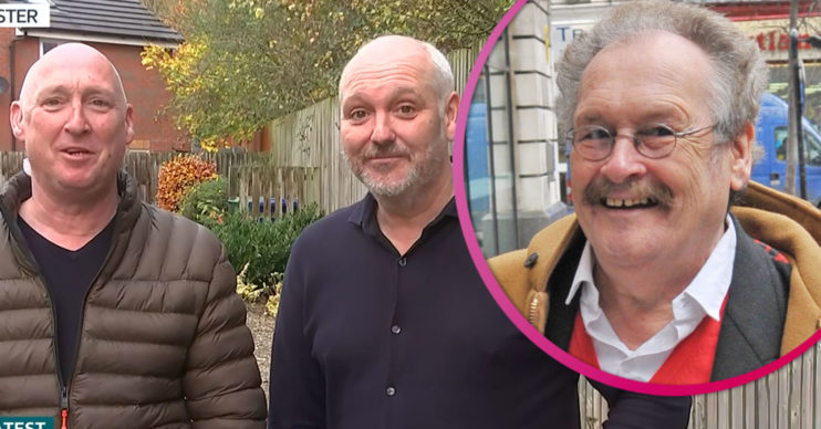 Bobby Ball sons on GMB