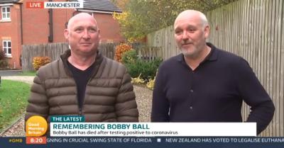 Bobby Ball sons on Good Morning Britain