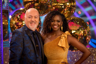 Bill Bailey on Strictly posing with Oti Mabuse