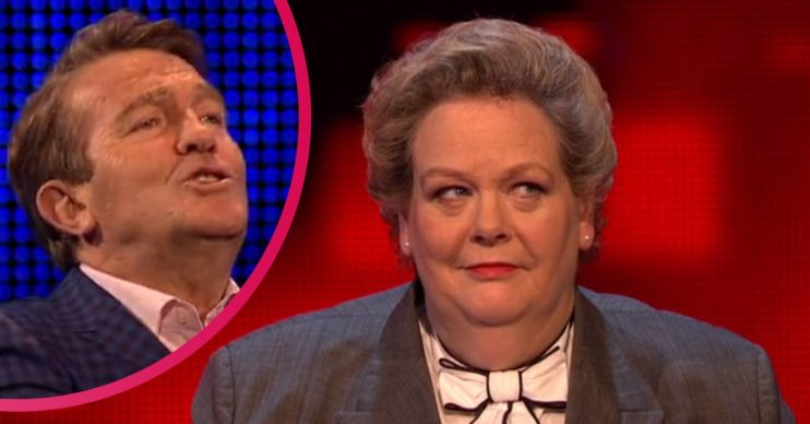 Anne Hegerty and Bradley Walsh on The Chase