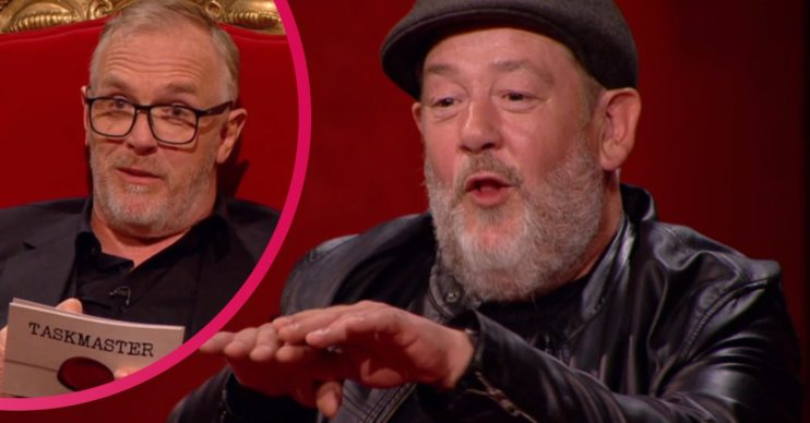 Johnny Vegas and Greg Davies on Taskmaster