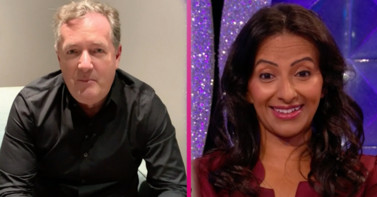 Piers Morgan demands Ranvir Singh win Strictly