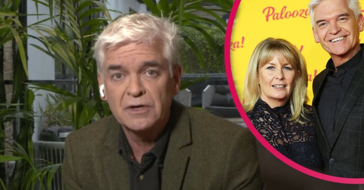 Phillip Schofield says he did not know he was gay when married