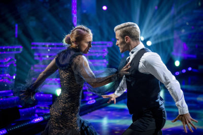 Gorka and Maisie dancing on Strictly