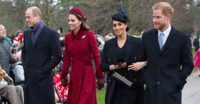 meghan markle and kate middleton outside