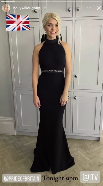 holly Willoughby dressed for the Pride of Britain awards