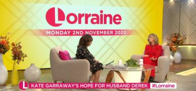 Kate Garraway on Lorraine