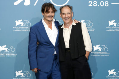 Johnny Depp and Mark Rylance