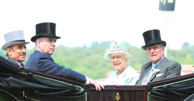 prince andrew and the royal family
