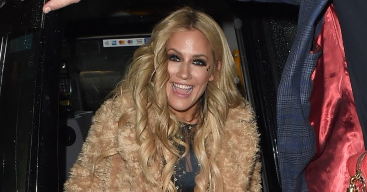 Caroline Flack pn her 40th birthday