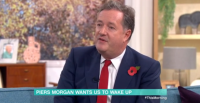 Piers Morgan on This Morning