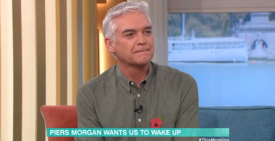 Phillip Schofield interviews Piers Morgan on This Morning