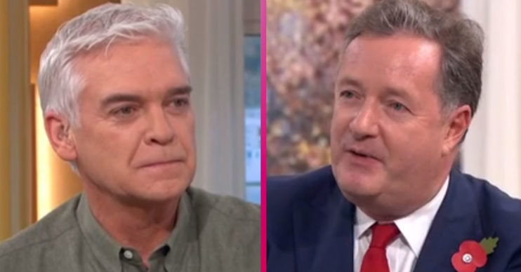 Phillip Schofield and Piers Morgan on This Morning