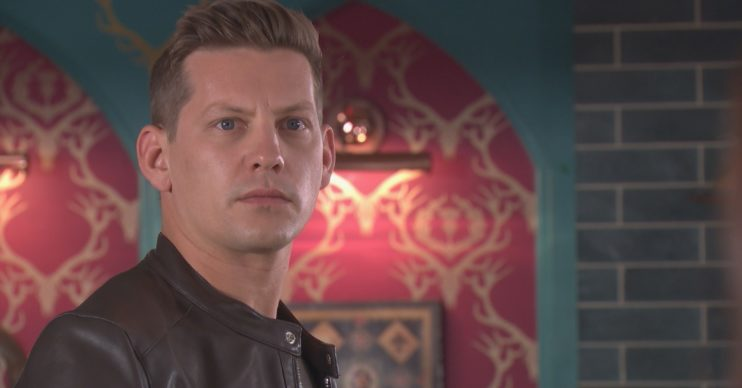 James Sutton as John Paul in Hollyoaks