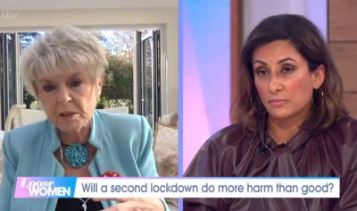 Gloria Hunniford and Saira Khan on Loose Women