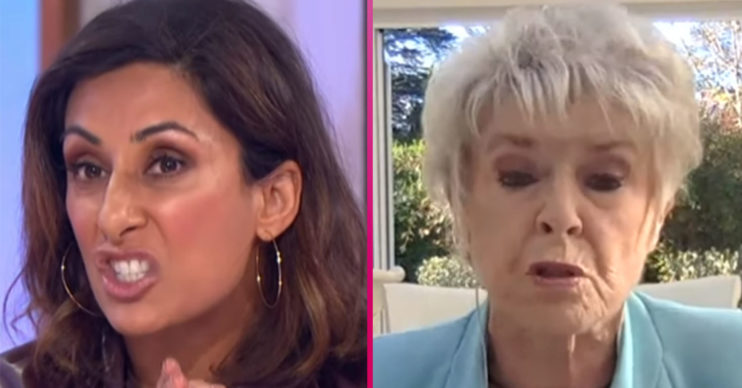Saira Khan and Gloria Hunniford clash on Loose Women