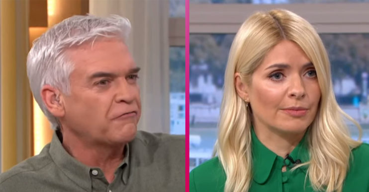 Holly Willoughby on This Morning