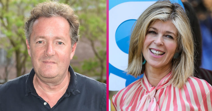 Piers Morgan and Kate Garraway