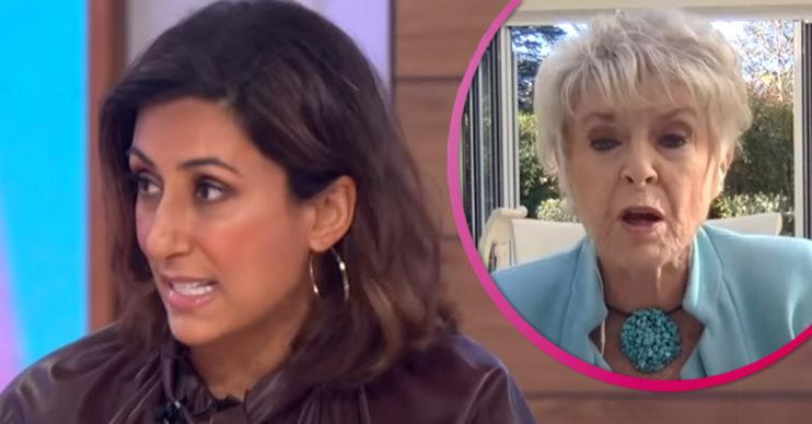 Saira Khan and Gloria Hunniford clash on Loose Women