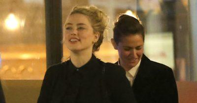 Amber Heard and partner Bianca