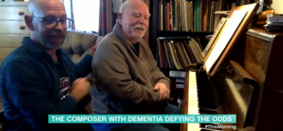 Dementia sufferer and piano player Paul Harvey on This morning