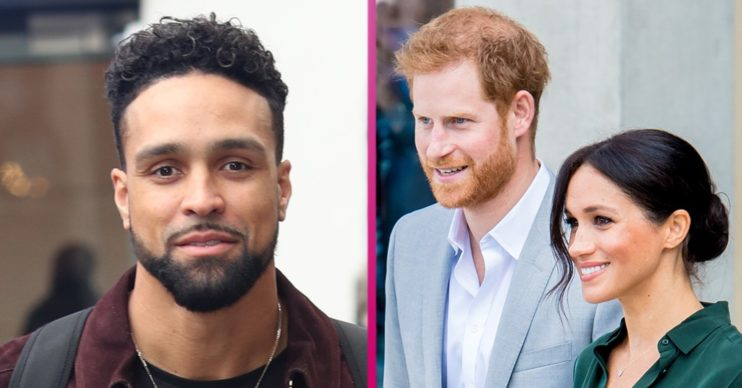 ashley banjo and prince harry meghan markle