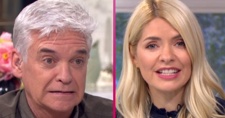 Phillip Schofield and Holly Willoughby on This Morning - they speak to caller about lockdown