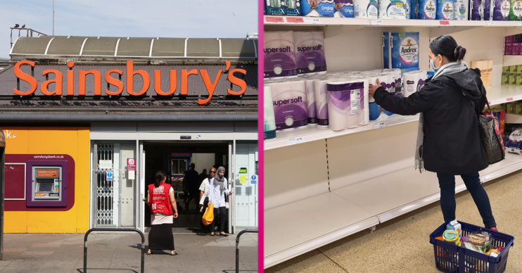 Sainsbury's lockdown rules