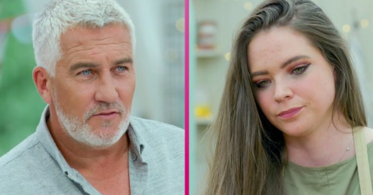 GBBO Lottie and Paul Hollywood