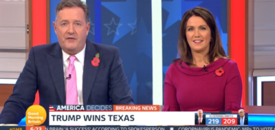 Piers Morgan and Susanna Reid host Election special on GMB