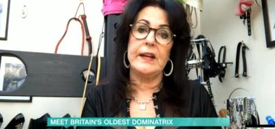 This Morning Britain's oldest dominatrix