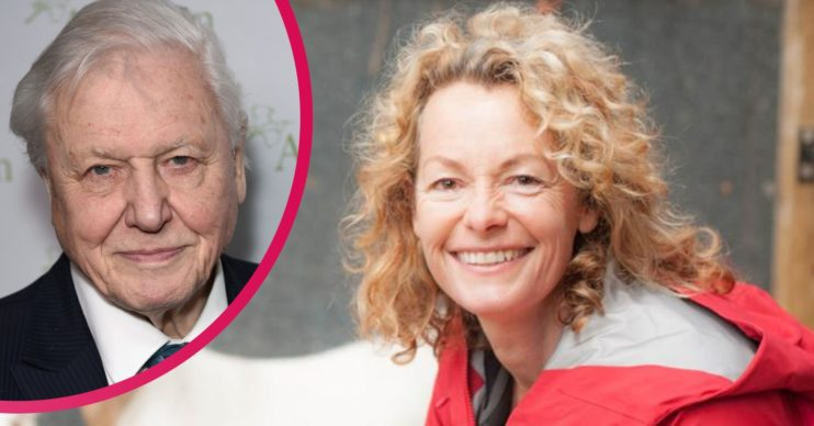 David Attenborough and Kate Humble