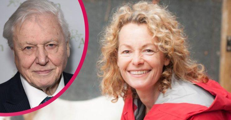 David Attenborough and Kate Humble