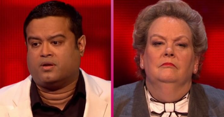 Paul Sinha and Anne Hegerty on The Chase