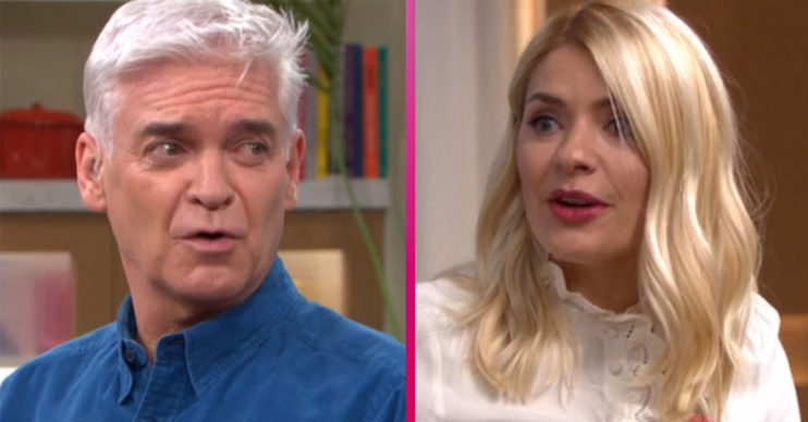 Phillip Schofield and Holly Willoughby on This Morning Spin to Win