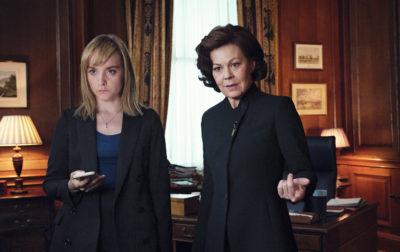 Helen McCrory as PM Dawn Ellison