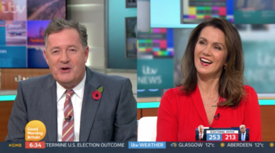 Piers splits up Phillip Schofield and Holly Willoughby