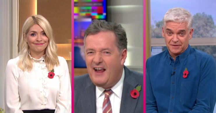 Piers Morgan splits up Holly Willoughby and Phillip Schofield